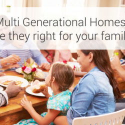 Multi Generational Homes advantages disadvantages MultiGen