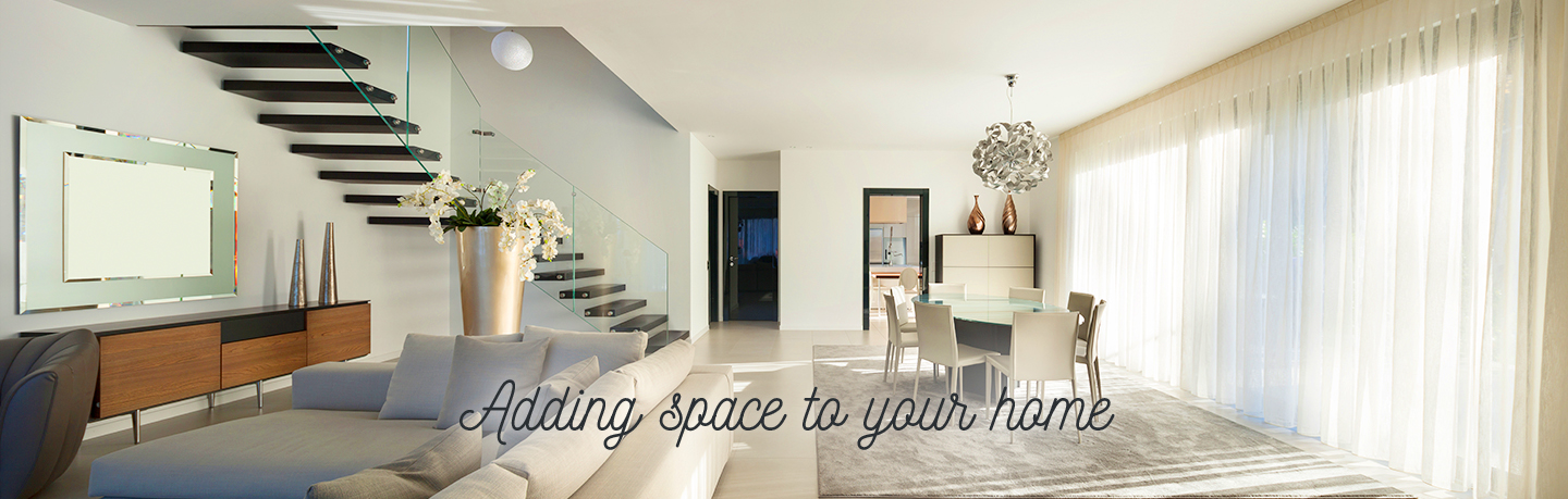 Adding space to your home