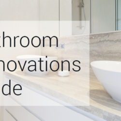 Bathroom renovation guide