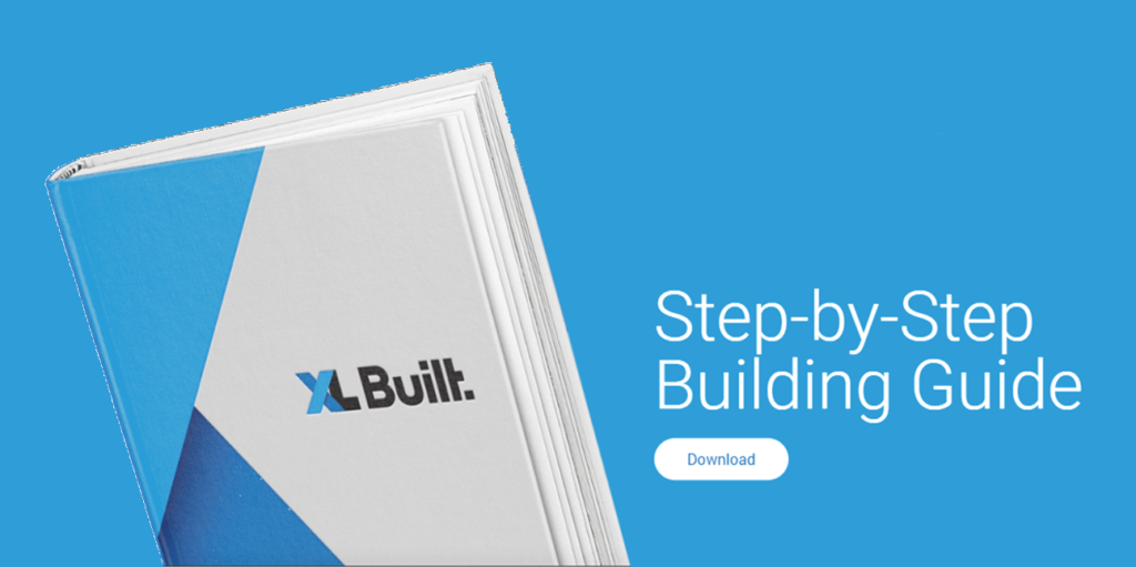 Step By Step Building Guide book blue