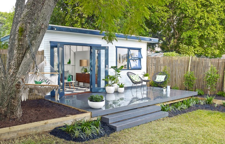 weatherboard Granny Flat with large deck