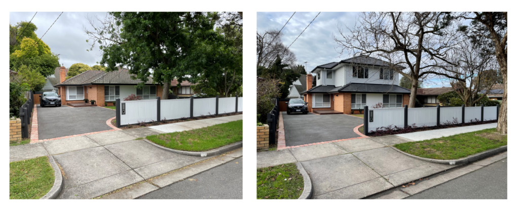 before and after second storey addition